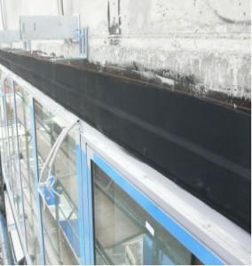 пример применения фасадной ленты